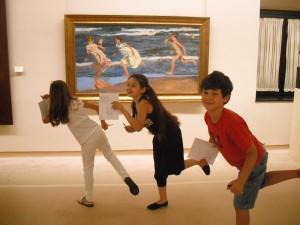Descubriendo cuadros en el Museo BBAA